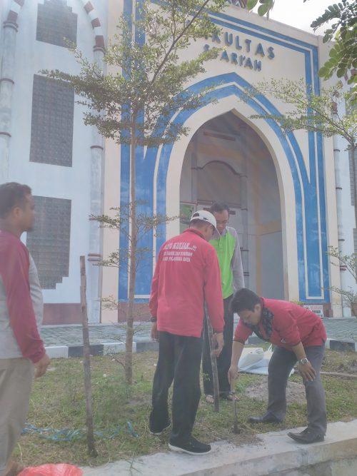 Persiapan Bakti Sosial Penanaman Pohon Anniversary ke-3 IAIN Palangka Raya