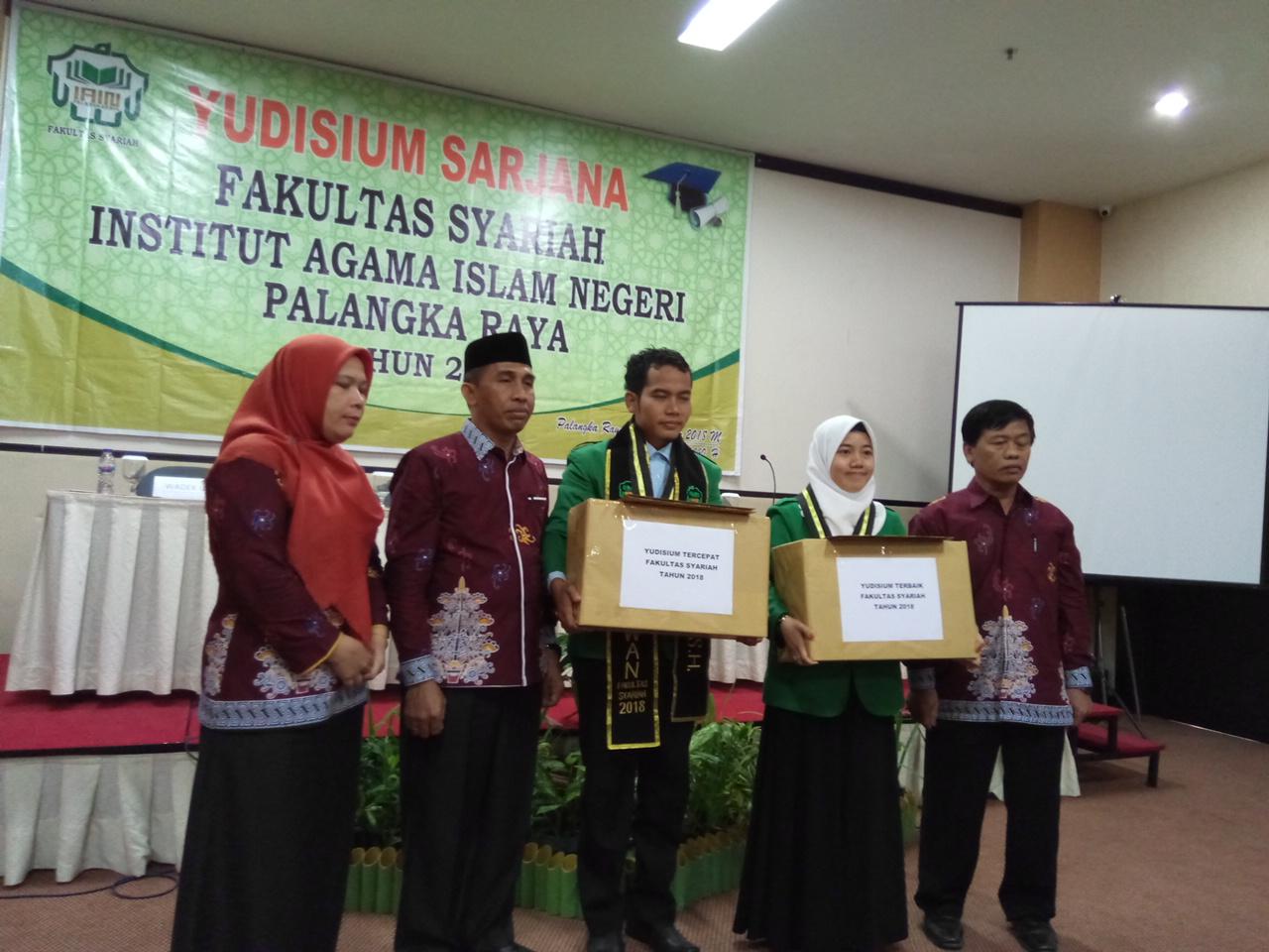 Yudisium Fakultas Syariah 2018