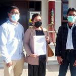 Menang Praperadilan, Mantan Asisten I Setda Kabupaten Katingan Didampingi Advokat Wikarya F. Dirun dan Tim PKBH Fakultas Syariah, IAIN Palangka Raya